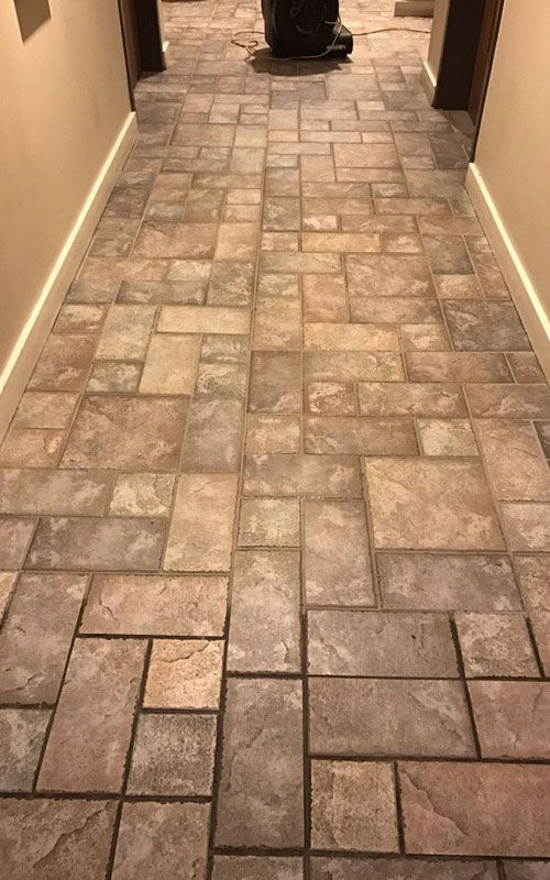 grout befor/after